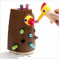 Накорми птенца. Магнитная игра с червячками Top Bright, фото 1