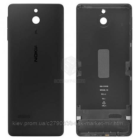 Задняя панель корпуса (крышка аккумулятора) для Nokia 515 Original Black С боковыми кнопками, фото 2