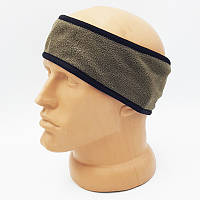 Армейская флисовая повязка на голову для занятий спортом. ВС Австрии, оригинал.