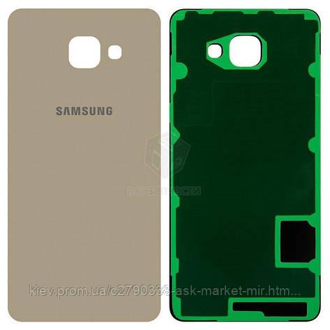 Задняя панель корпуса (крышка аккумулятора) для Samsung Galaxy A7 2016 (A710F, A710M, A710Y), Galaxy A7 2016, фото 2
