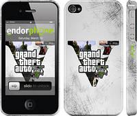 "Чехол на iPhone 4s GTA 5 ""629c-12"""