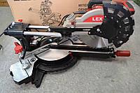 Торцова пила з протяжкою Lex LXCM250, 2500Вт, 255диск, фото 1