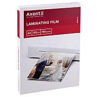 Плёнка для ламинирования Axent 125 мкм A4 216 x 303 мм 100 шт