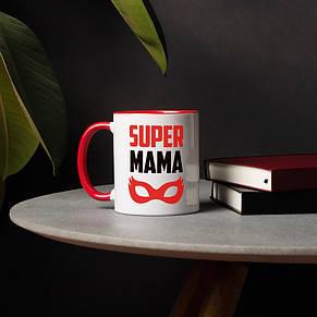 """Кружка """"SUPER MAMA"""", фото 2"""