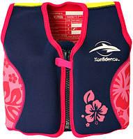 Плавательный жилет Original Konfidence Jacket, Цвет: Navy/Pink/Hibiscus 4-5 г (KJ05-B-05) (KJ05-B-05)