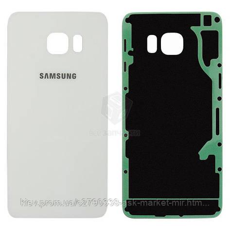 Задняя панель корпуса (крышка аккумулятора) для Samsung Galaxy S6 EDGE+ G928 Original 2.5D White, фото 2