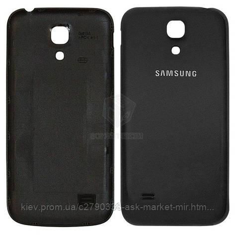 Задня панель корпусу (кришка акумулятора) для Samsung Galaxy S4 mini (I9190, I9195), Galaxy S4 Mini Duos I9192 Original Black, фото 2