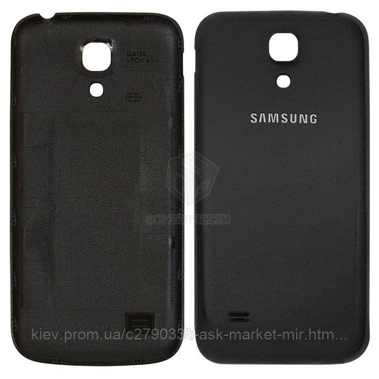 Задня панель корпусу (кришка акумулятора) для Samsung Galaxy S4 mini (I9190, I9195), Galaxy S4 Mini Duos I9192 Original Black