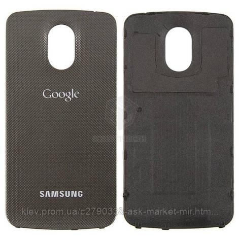 Задня панель корпусу (кришка акумулятора) для Samsung Galaxy Nexus i9250 Original Grey, фото 2