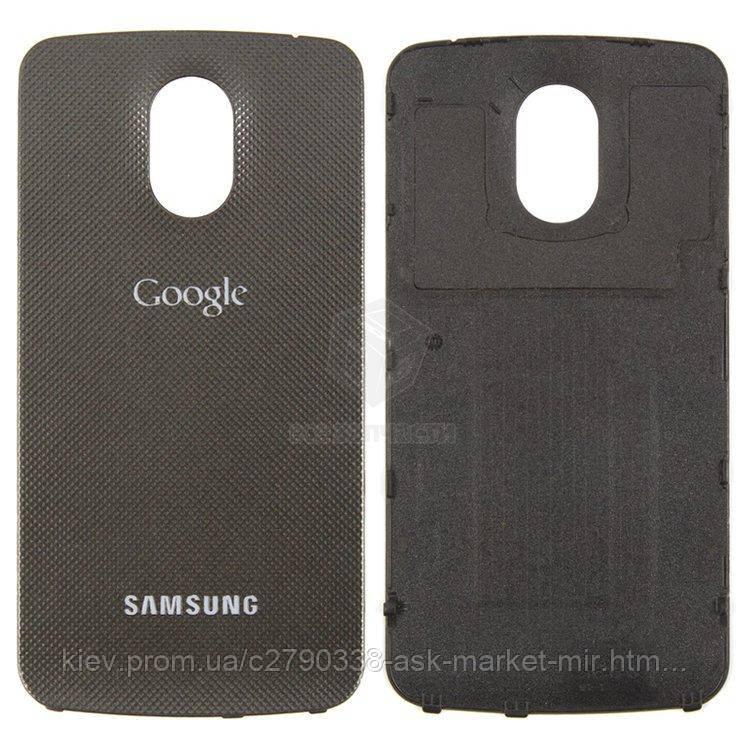 Задня панель корпусу (кришка акумулятора) для Samsung Galaxy Nexus i9250 Original Grey
