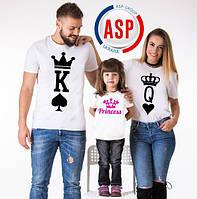 Футболки для всей семьи Family Look Фэмили лук футболки для мамы папы и детей изготовление за один день