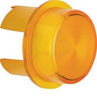Крышка светового сигнала Berker, Е10, желтая, прозрачная (1282)