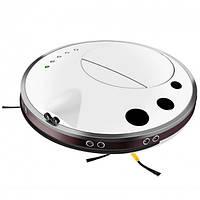 Тихий ультратонкий моющий робот-пылесос INSPIRE с функцией ультразвуковой самоочистки FQ3C White