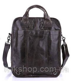 Эксклюзивная мужская сумка Vintage Серая