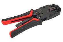 Обжимной инструмент PowerPlant RJ45, RG12, RG11