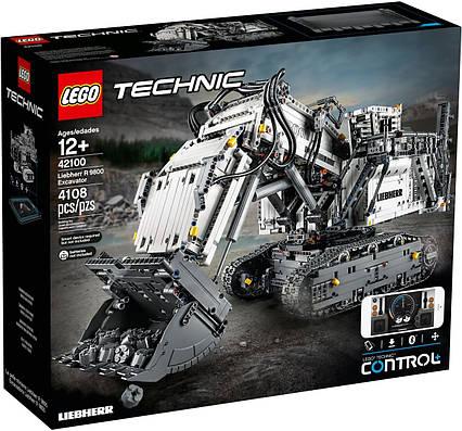 Lego Technic Экскаватор Liebherr R 9800 42100