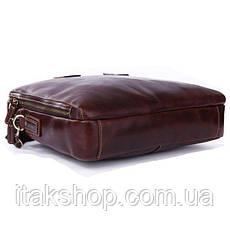 Сумка мужская Vintage 14073 для ноутбука Коричневая, Коричневый, фото 2