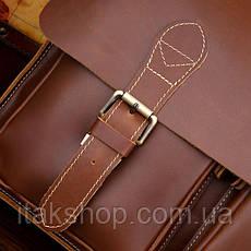 Портфель Vintage 14101 Коричневый, Коричневый, фото 3