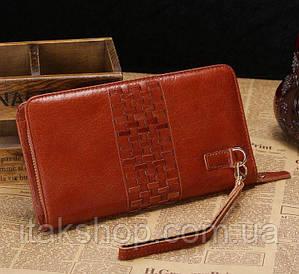 Мужской клатч Vintage 14189 Коричневый, Коричневый