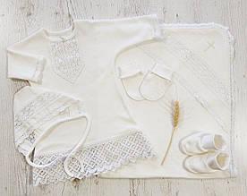 Дитячий комплект для дівчинки Одяг для дівчаток 0-2 Схід-текстиль України 3004 Молочний