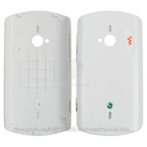 Задня панель корпусу (кришка акумулятора) для Sony Ericsson Live with Walkman-WT19i Original White, фото 2