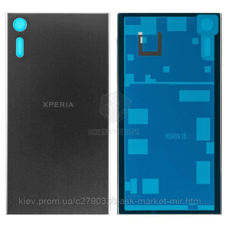 Задняя панель корпуса (крышка аккумулятора) для Sony Xperia XZ F8331, Xperia XZ Dual F8332 Original Black