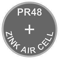 Батарейка для слуховых аппаратов Zinc Air PR48 (AC13, DA13) GP 1.4V