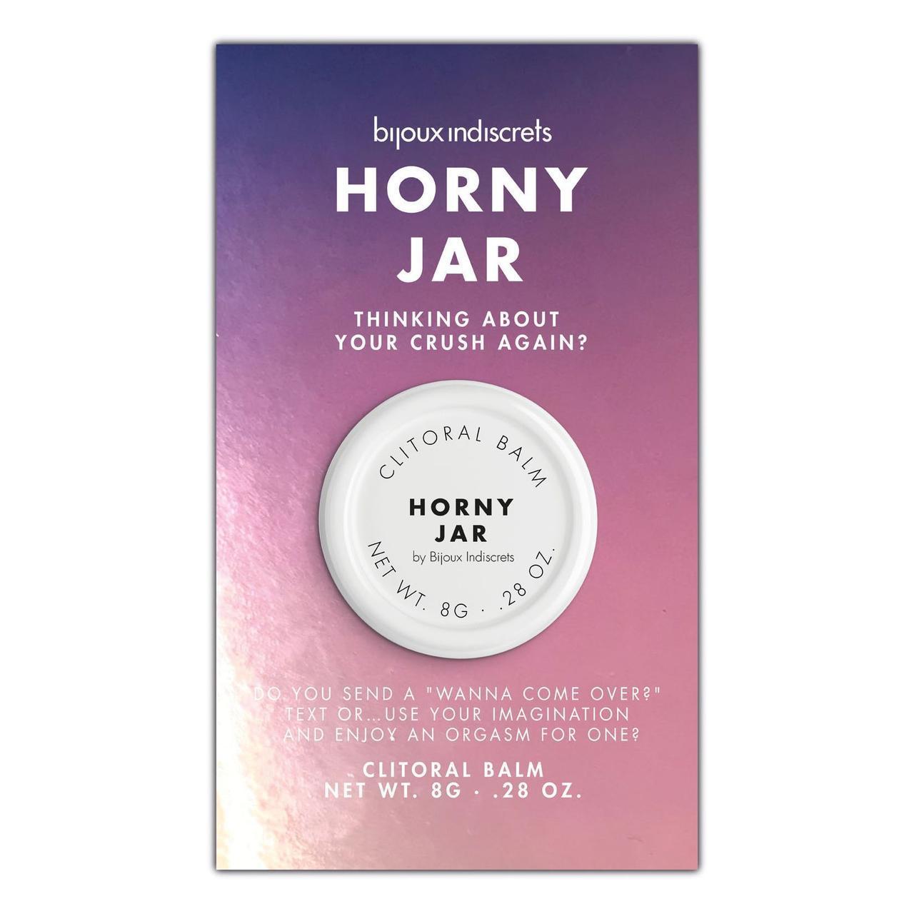 Бальзам для клитора Bijoux Indiscrets Horny Jar (Дрожи от удовольствия)