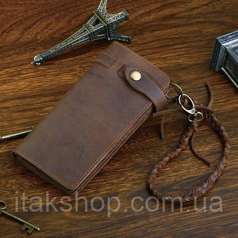 Мужской клатч Vintage 14383 из винтажной кожи Коричневый, Коричневый, фото 2