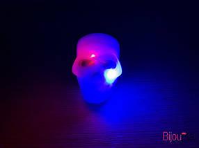 Кольцо светящиеся тыквы и черепа украшения и аксессуары для Хеллоуина 24 штуки в упаковке, фото 2