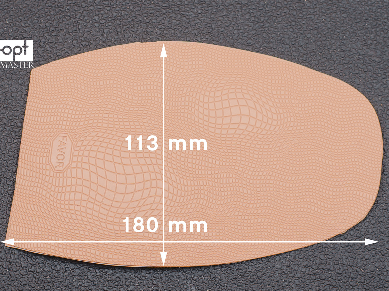 Профилактика формованная FAVOR-рептилия, т. 1.5 мм, р. средний, цв. бежевый (10)