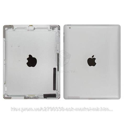 Задняя панель корпуса (крышка) для Apple iPad 2 (A1395, A1396, A1397) Wi-Fi Original Silver, фото 2