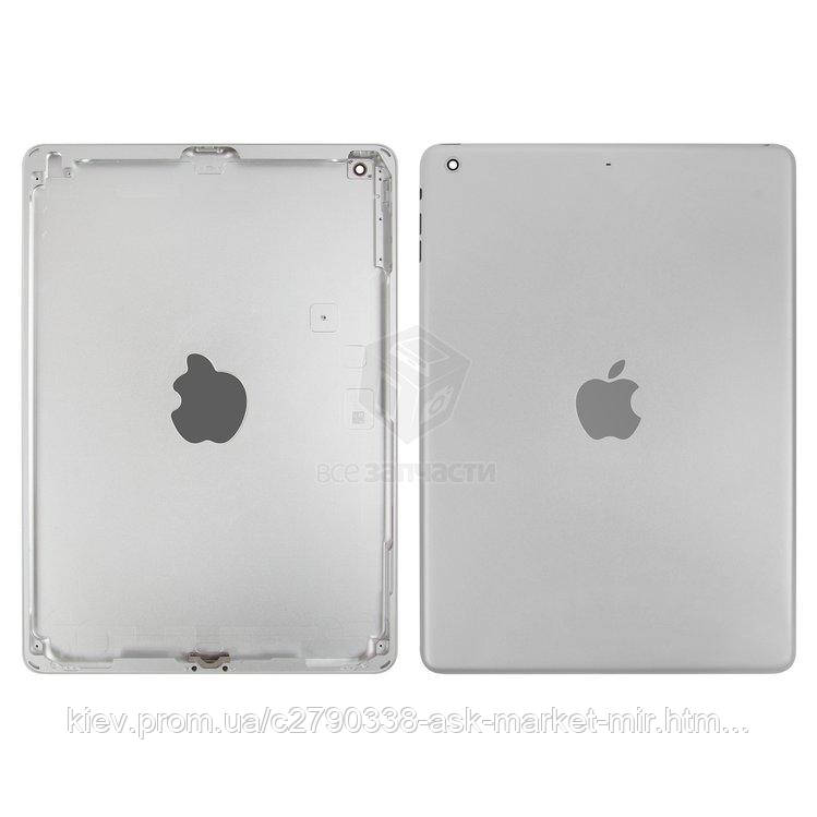 Задняя панель корпуса (крышка) для Apple iPad Air (A1474, A1475, A1476) Wi-Fi Original Silver