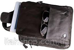 Сумка мужская Vintage 14297 Серая, Серый, фото 2