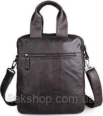 Сумка мужская Vintage 14297 Серая, Серый, фото 3