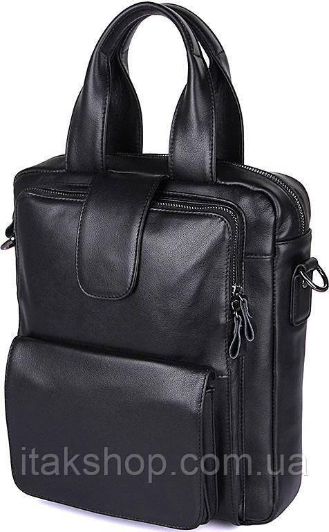 Сумка мужская Vintage 14479 Черная, Черный