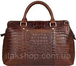 Сумка мужская Vintage 14557 из натуральной кожи Коричневая, Коричневый, фото 3
