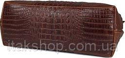 Сумка мужская Vintage 14557 из натуральной кожи Коричневая, Коричневый, фото 2