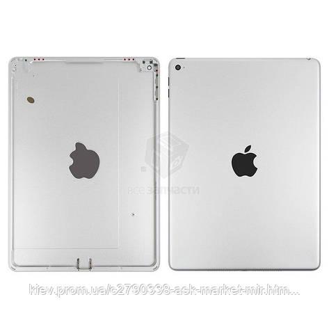 Задняя панель корпуса (крышка) для Apple iPad Air 2 (A1566, A1567) Wi-Fi Original Silver, фото 2