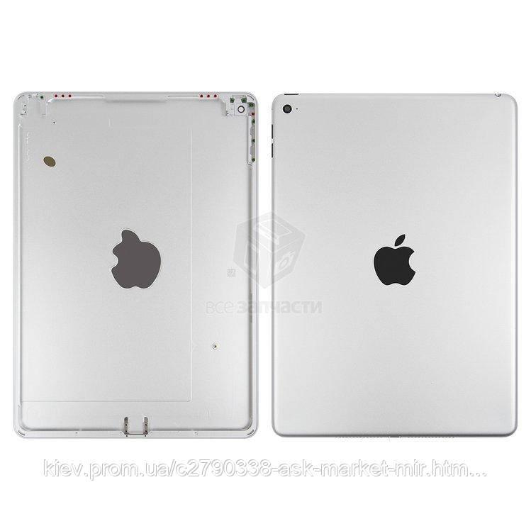Задняя панель корпуса (крышка) для Apple iPad Air 2 (A1566, A1567) Wi-Fi Original Silver