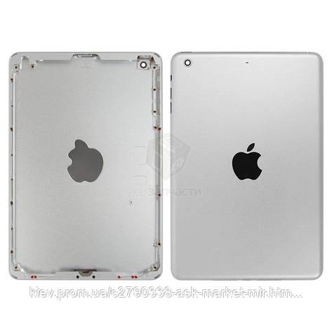 Задняя панель корпуса (крышка) для Apple iPad Mini 2 (A1489, A1490, A1491) Wi-Fi Original Silver, фото 2