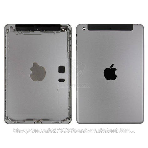 Задняя панель корпуса (крышка) для Apple iPad Mini 2 (A1489, A1490, A1491) 3G Original Black, фото 2
