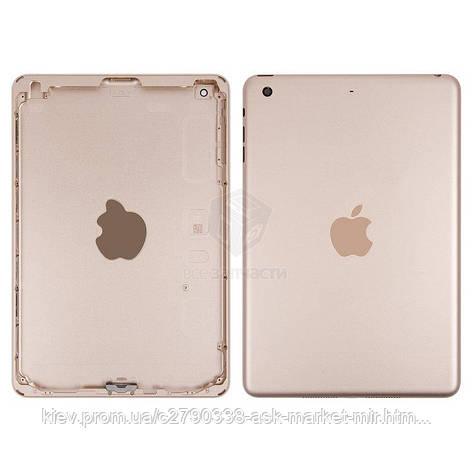 Задняя панель корпуса (крышка) для Apple iPad Mini 3 (A1599, A1600) Wi-Fi Original Gold, фото 2