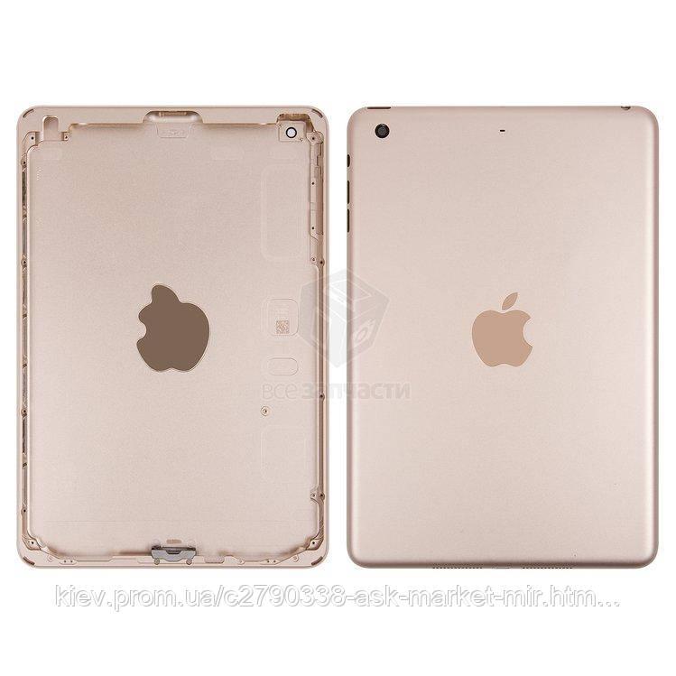 Задняя панель корпуса (крышка) для Apple iPad Mini 3 (A1599, A1600) Wi-Fi Original Gold