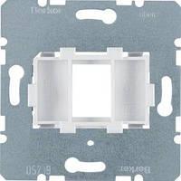 ЦП Berker, AMP, 1 мод., белая вставка (454002)
