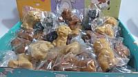 Фигурки-антистресс селиконовая собака,5 см,30 шт.упаковка