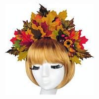 """Венок-обруч для волос """"Осень"""""""