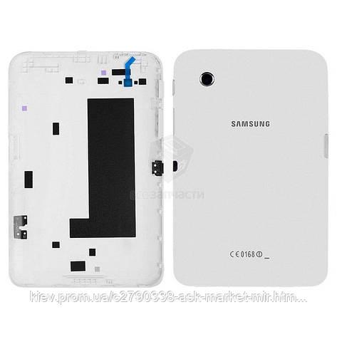 Задняя панель корпуса (крышка) для Samsung Galaxy Tab 2 7.0 P3110 Wi-Fi Original White, фото 2
