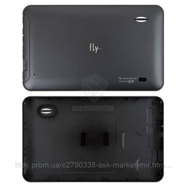 Задняя панель корпуса (крышка) для Fly Flylife Web 7 Original Black #42-F203024391