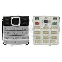 Клавиатура для Nokia 7310 Supernova Original Silver С русскими буквами